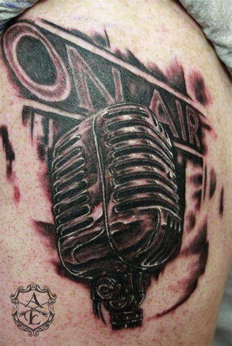 radio  air mic tattoo  shoulder  sean ambrose