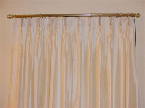 Pinch Pleated Drapes by Faux Silk Pinch Pleated Drapes Pleated Curtains