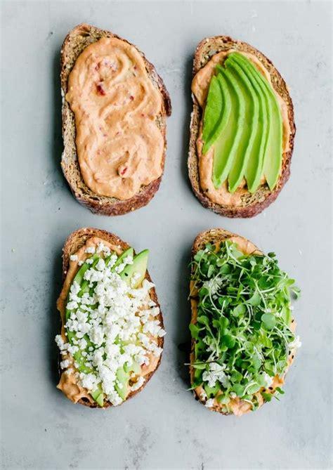 recette toast idees pour  petit dejeuner gouter ou