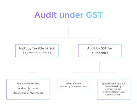 audit  gst     audited  tax officers