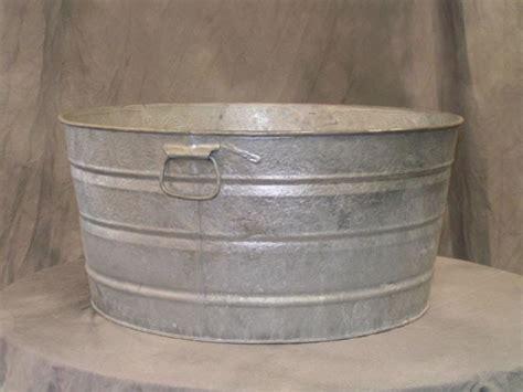 metal water tub economic research galvanized tubs