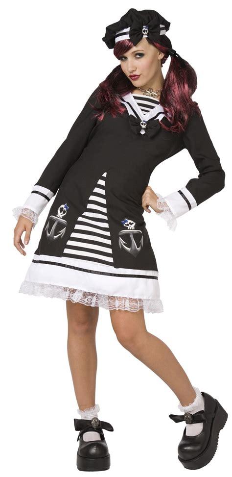 déguisement marin femme d 233 guisement marin gothique femme robe matelot noir