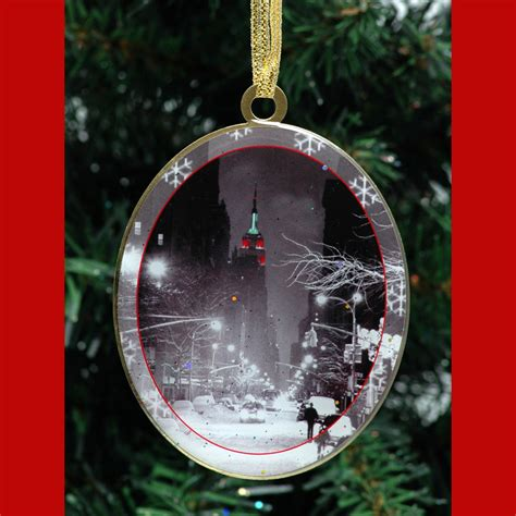 Empire State Building Christmas New York  Christmas Ornament  Ny Christmas Gifts