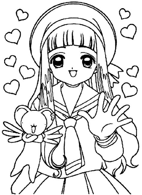 sakura coloring pages learn  coloring