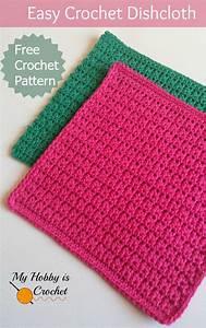 My Hobby Is Crochet  Easy Crochet Dishcloth