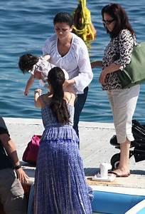 Georgina Chapman On a Boat in Cannes - Zimbio