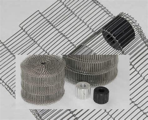 type 304 stainless steel chain steel flat wire belt woven metal conveyor strips for parts