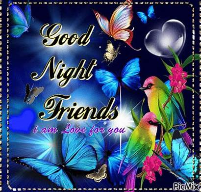 Night Friends Goodnight Gifs Picmix Friend Evening