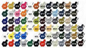 Urban S Colour Reference Charts Tamiya Colour Map Ipms