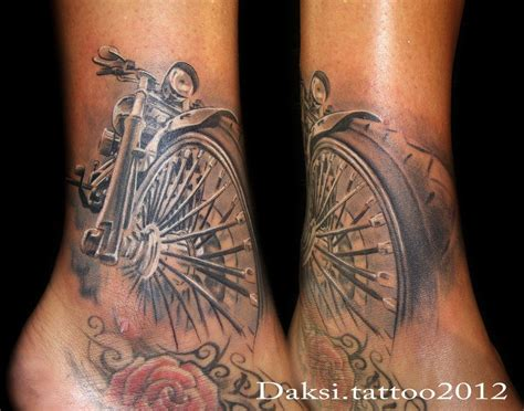 Best 25+ Harley Davidson Tattoos Ideas On Pinterest