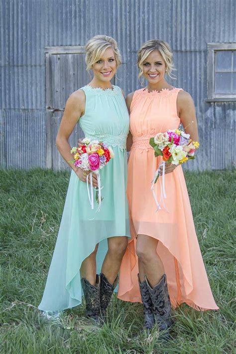 best 25 country bridesmaid dresses ideas on