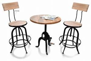 Table Et Chaise Bistrot : table chaise bistrot ~ Teatrodelosmanantiales.com Idées de Décoration