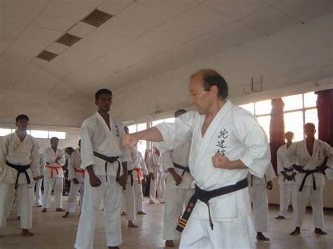 Mestre Oscar Higa Shorinryu Kyudokan