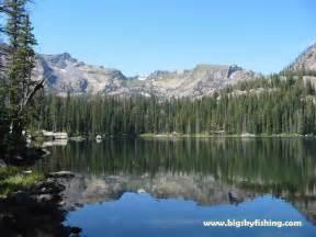 Montana Mountain Lakes Fishing