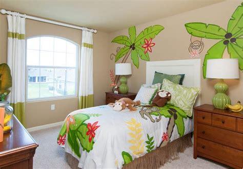 decoration chambre jungle déco chambre enfant jungle deco maison moderne