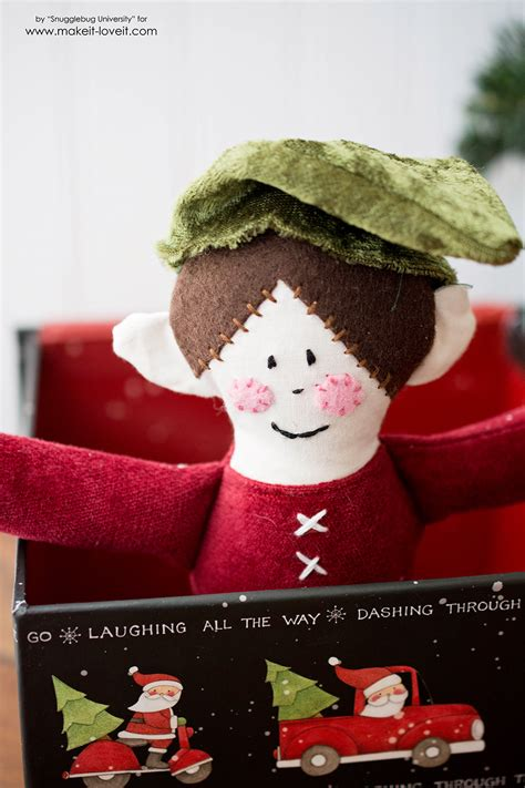 on a shelf doll sew an quot on the shelf quot doll make it and it