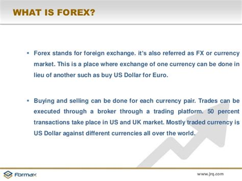 what is currency trading what is forex market