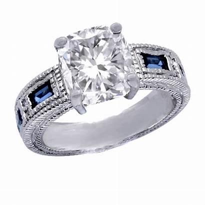 Diamond Cushion Cut Ring Anillos Engagement Compromiso