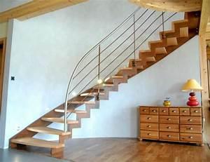 Escalier Bois Intérieur : escaliers d 39 int rieur ~ Premium-room.com Idées de Décoration