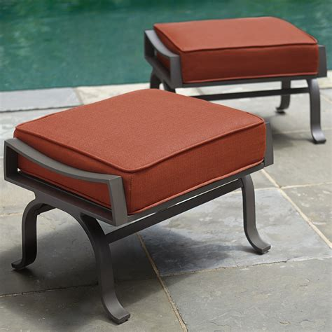 Ty Pennington Patio Furniture Palmetto by Ty Pennington Palmetto 2pk Ottomans Outdoor Living