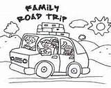 Coloring Trip Road Clip Clipart Pages Colouring Vacation Activities Trips Drawing Printables Roadtrip Summer Printable Traveling Travel Google Winding Billygorilly sketch template