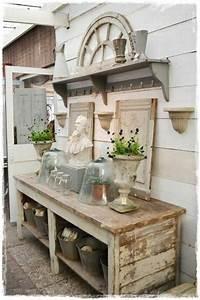 Gartenhaus Shabby Chic : gartenschrank eine praktische bereicherung ihres gartens garten pinterest garten ~ Markanthonyermac.com Haus und Dekorationen
