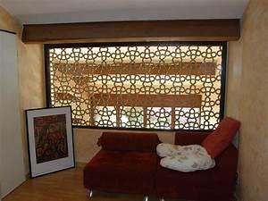 Separation Piece En Bois : claustra bois atlas ~ Teatrodelosmanantiales.com Idées de Décoration
