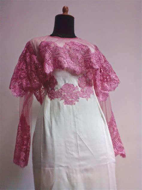 supplier baju muslim solo terbaru  kiky vinola kebaya