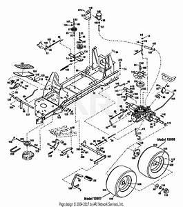 Troy Bilt 13099 16hp Hydrostatic Ltx Tractor  S  N
