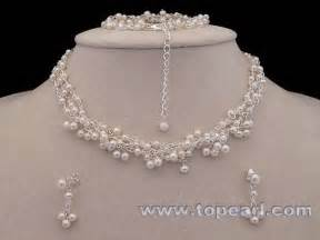 pearl bridesmaid jewelry sets wholesale bridal jewelry at topearl jewelry store