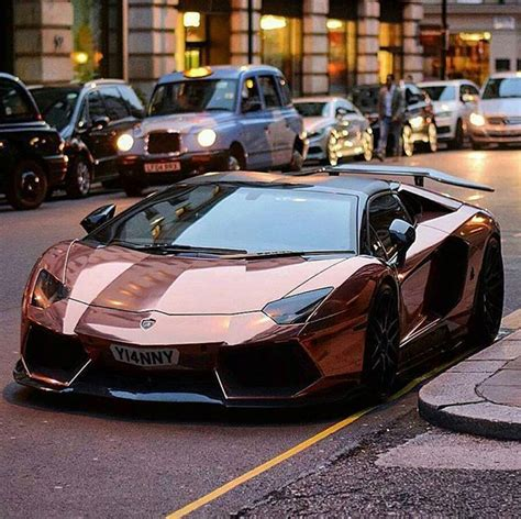 rose gold lamborghini rose gold aventador spend 1 hour a day posting pictures
