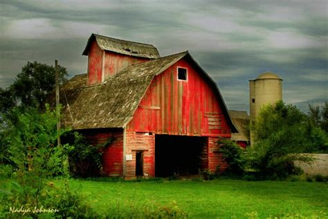 """underneath The Old Red Barn"""
