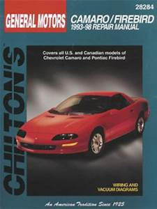 Chilton Chevrolet Camaro Pontiac Firebird 1993
