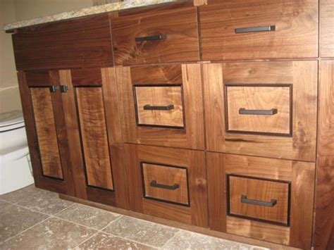 Figured Walnut Cabinets Portland Oregon
