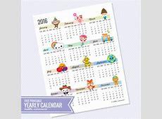 Imprimibles Calendarios 2016