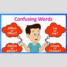 Words Confused Often  Know The Difference Between Confusing Words
