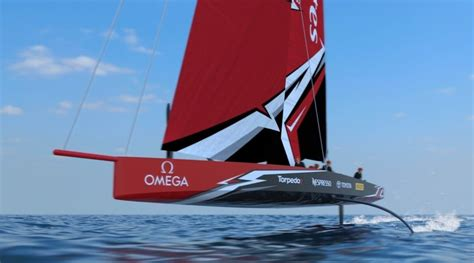Ac62 Boat by Fully Foiling America S Cup Boat Unveiled