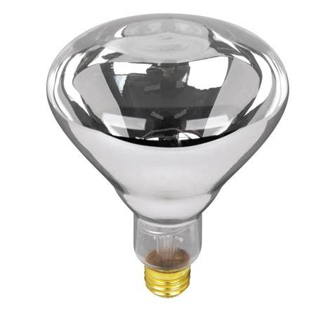 heat l light bulb philips 250 watt 120 volt br40 incandescent heat l