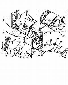 Whirlpool Lgr3624eq0 Dryer Parts