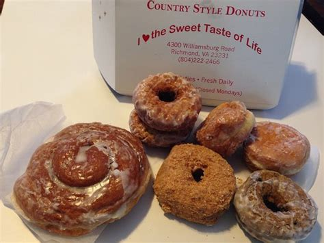 Mmmm! Yummy !  Picture Of Country Style Doughnuts