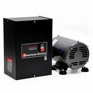 American Rotary Phase Converter Ar5 5 Hp 1 To 3 Three Ph