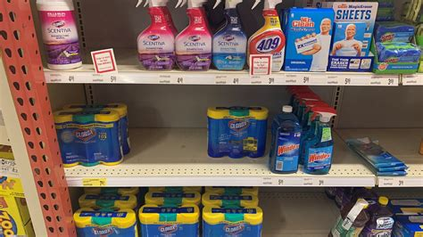 Coronavirus disinfectants list: EPA says these products