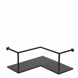 Etagere Murale Angle : etag re d 39 angle design industriel m tal noir meert by drawer ~ Teatrodelosmanantiales.com Idées de Décoration