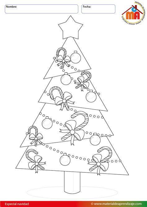 arbol de navidad dibujo arbol de navidad  colorear