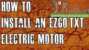 Ezgo High Torque Electric Motor Swap
