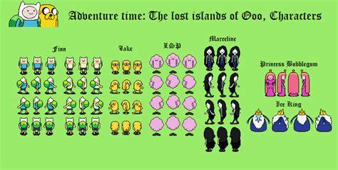 Adventure Time Rpg Overworlds By Tebited15 On Deviantart