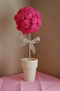 flores de papel crepe ideas para decoración diferente