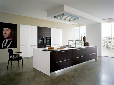 cuisine blanche design cuisine bois