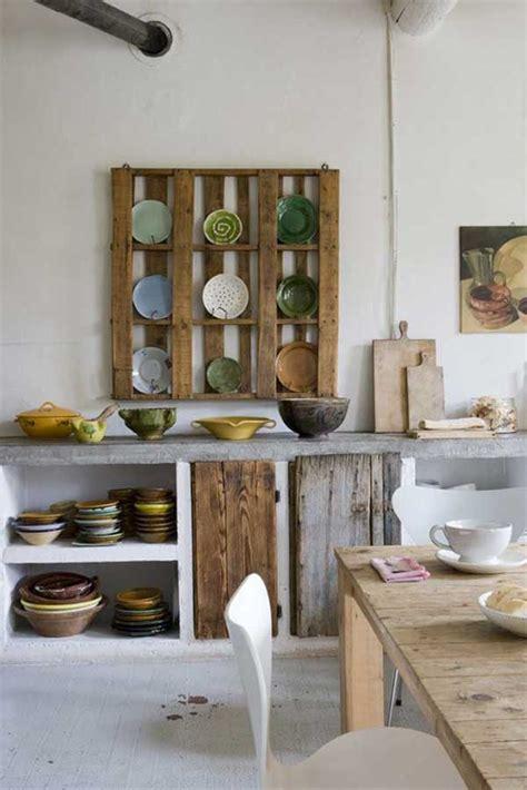 cool diy kitchen pallets ideas