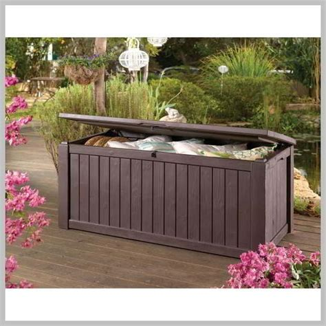 Keter Rockwood Deck Box 150 Gallon Uk by Jumbo Deck Box Images